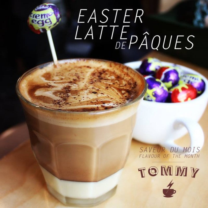 Tommy's Easter Latte