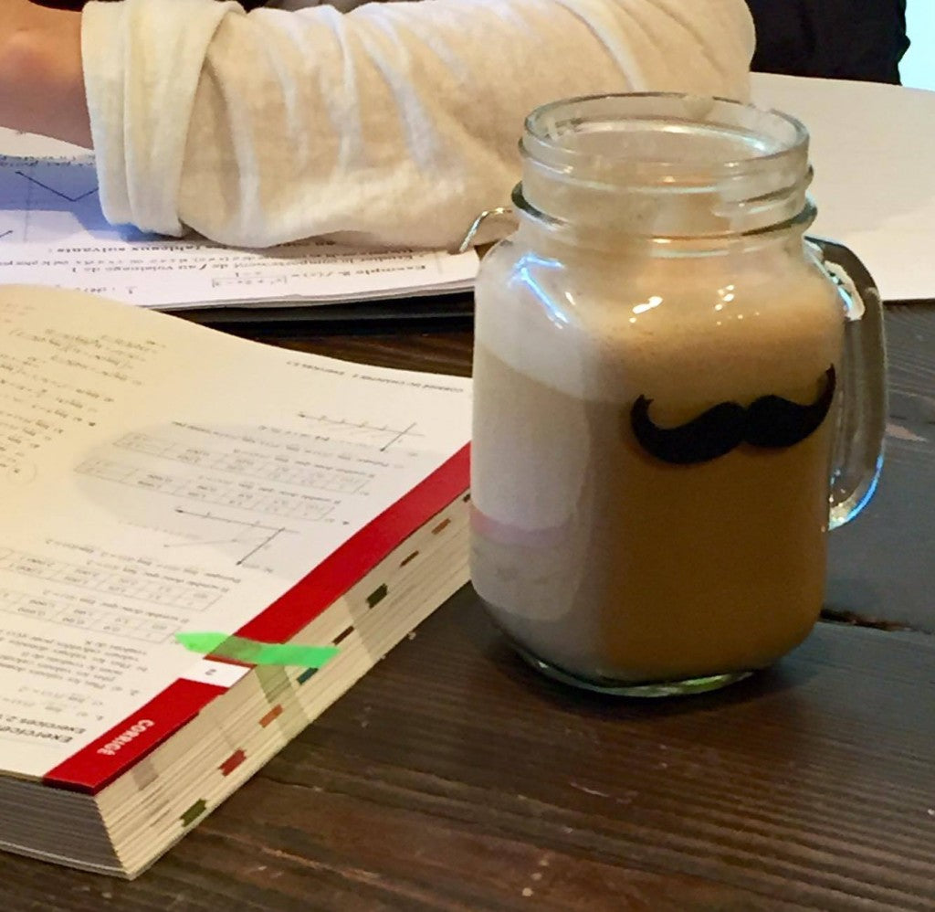 Mostache Jars for your study session