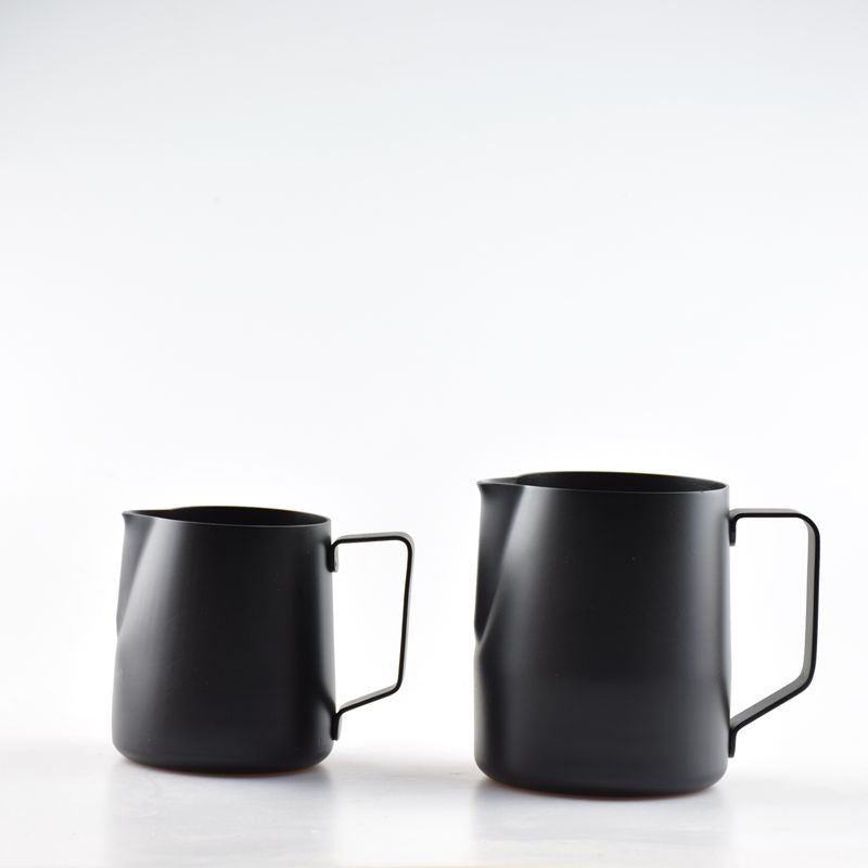 Black Stainless Steel Coffee Pitcher
