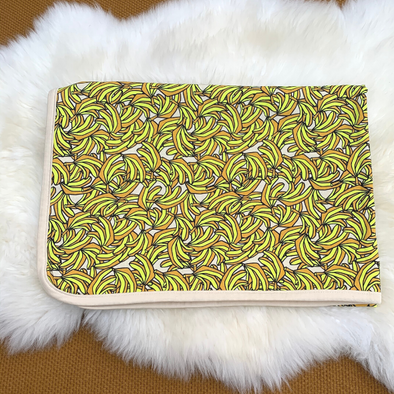 Organic Cotton Blanket - Banana