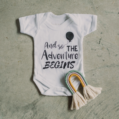Adventure Begins Bodysuit