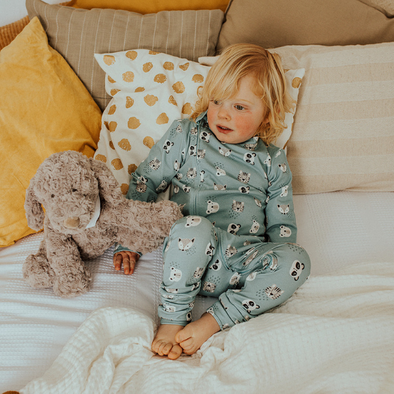 Animal Friends Grippy Zippy Sleepsuit