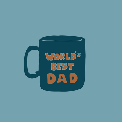 World's Best Dad Card