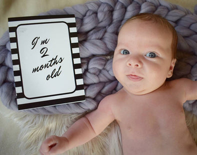 Milestone Cards for Baby's 1st Year