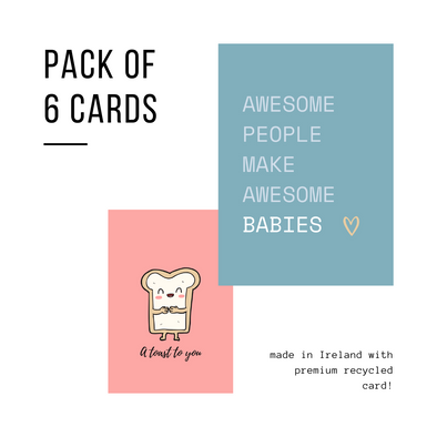Pack of 6 Card