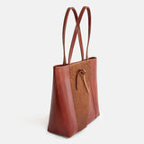 Wrap Leather Tote