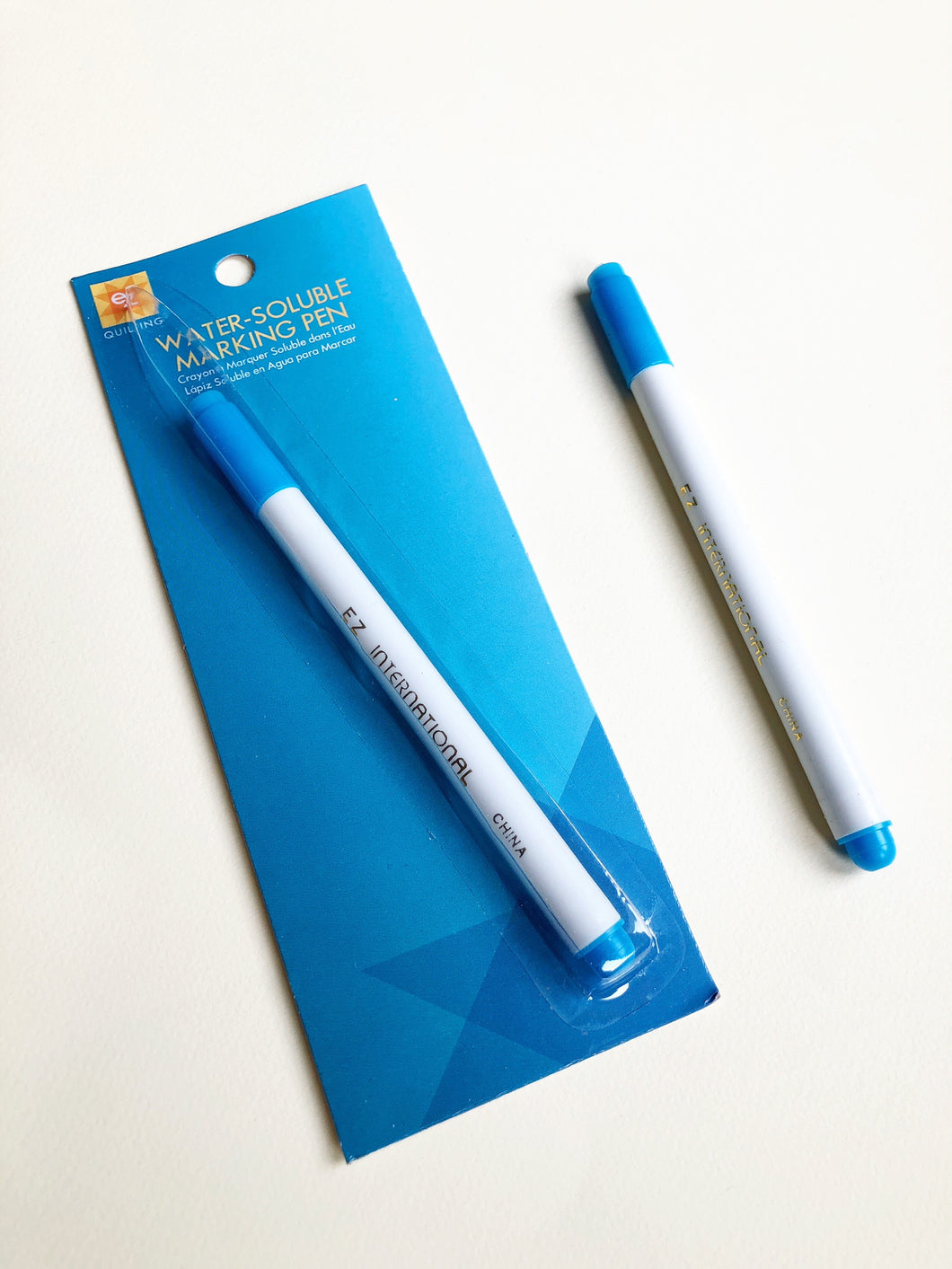 EZ Quilting Water Soluble Blue Marking Pen