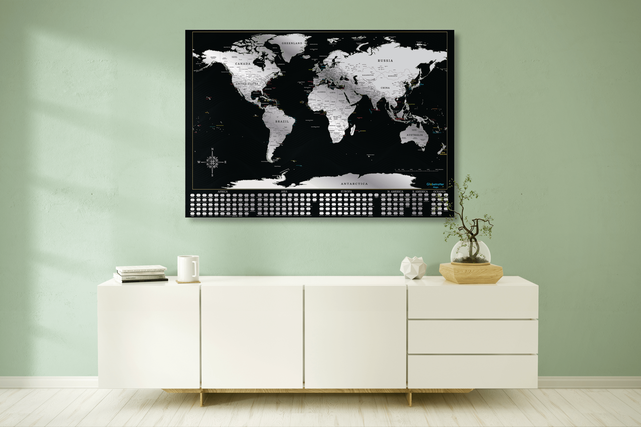 Globetrotter maps scratchable world map globetrotter works globetrotter maps scratchable world map gumiabroncs Image collections