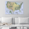 US National Parks Scratchable Map