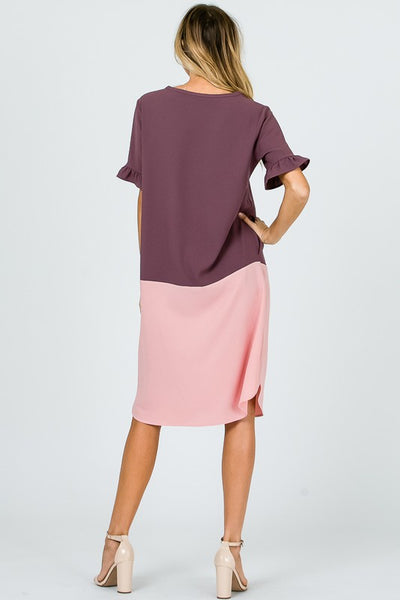 Ronda Color Block Dress