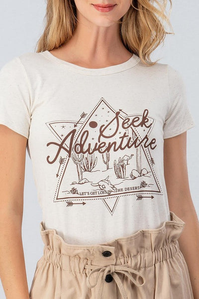 Seek Adventure Graphic Tee