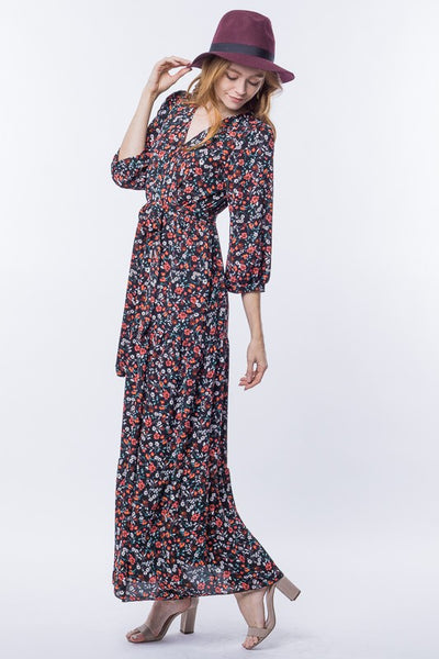 Beverly Floral Maxi