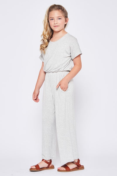 Haven Jumpsuit for Girls in Grey