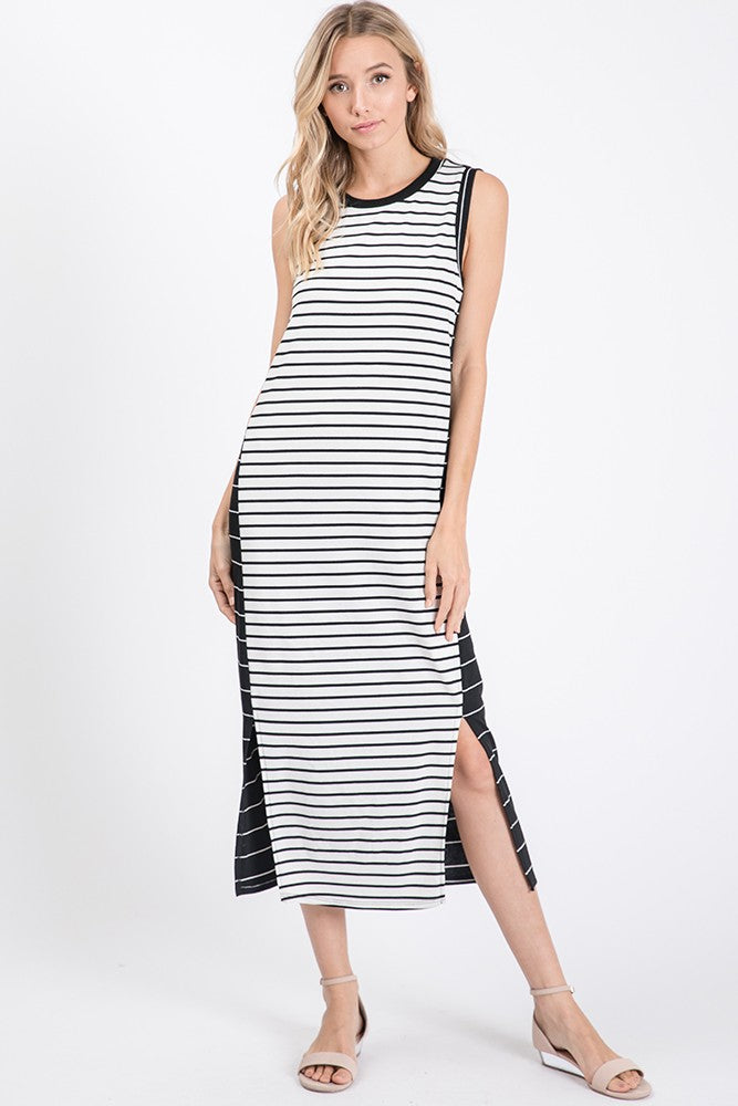 Dedra Stripe Dress