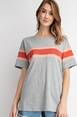 Bethany Top in Grey