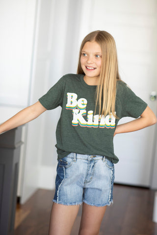 Be Kind Tee for Girls
