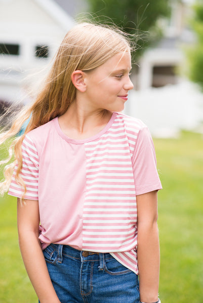 Polly Contrast Stripe Top