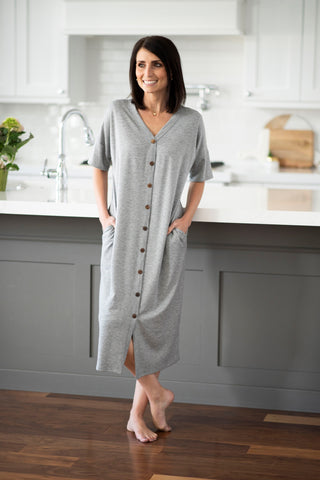 Teresa Dress in Grey