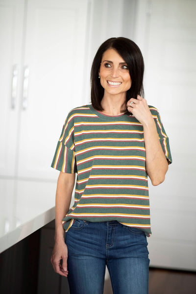 Philly Stripe Top