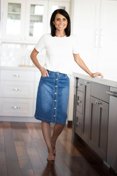 Elm Denim Skirt