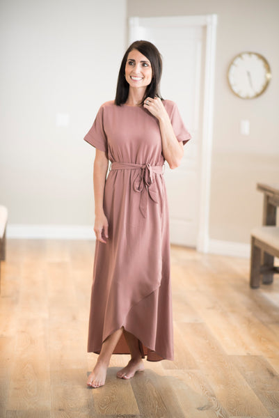 Derby Dress in Mauve