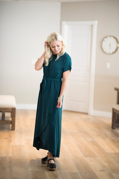 Derby Dress in Teal
