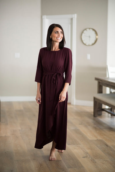 Hadley Maxi in Burgundy
