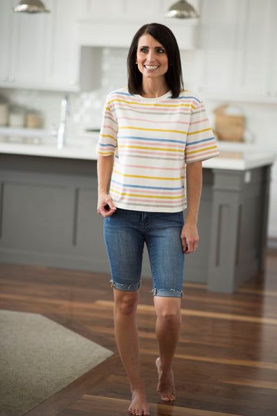 Britan Stripe Top