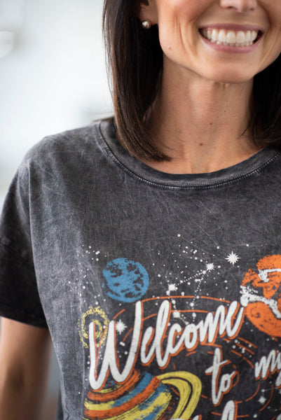 Welcome To My Galaxy Tee