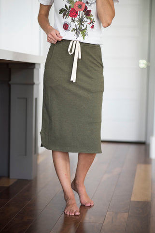 Maddy Skirt in Olive