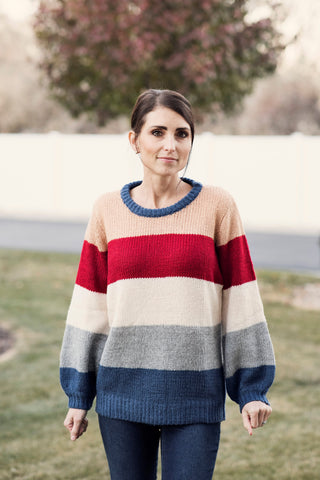 Shea Multi Color Sweater