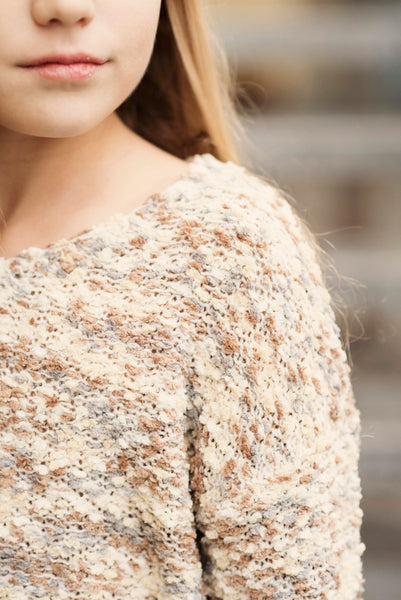 Kiri Textured Cropped Sweater