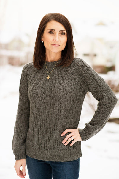 Esther Charcoal Sweater