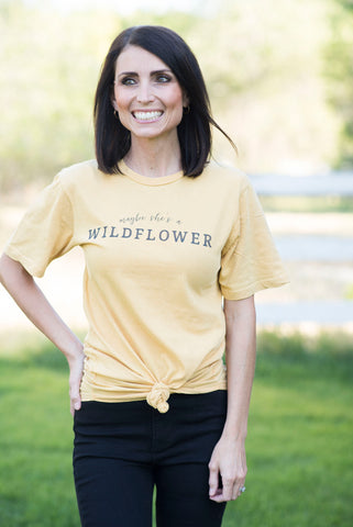 Maybe She's A Wildflower Tee