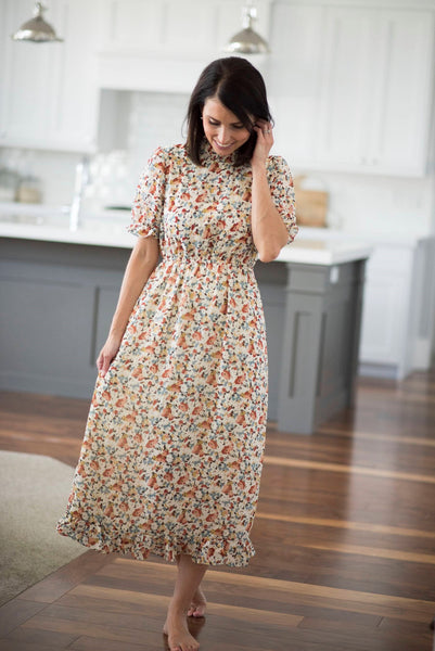 Mila Floral Dress for Women