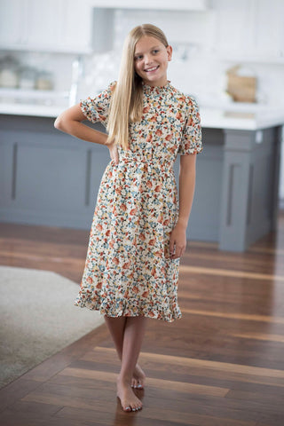 Mila Floral Dress for Girls