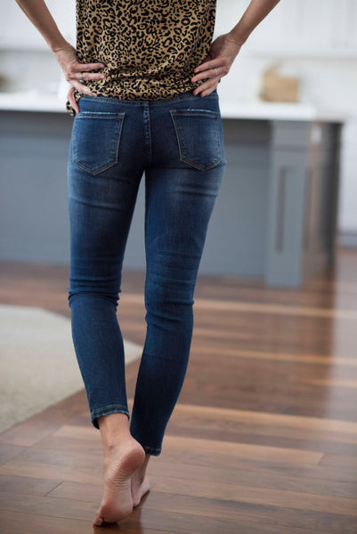 Linden Mid-Rise Skinny Jeans