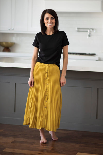 Kandas Pleated Skirt