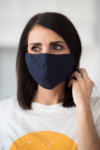 Women's Non-Medical Mask in Navy