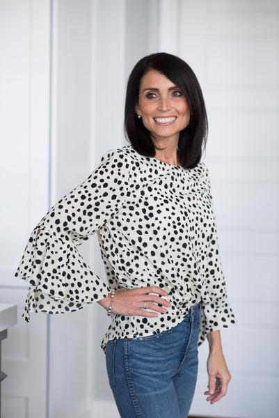 Animal Dot Blouse