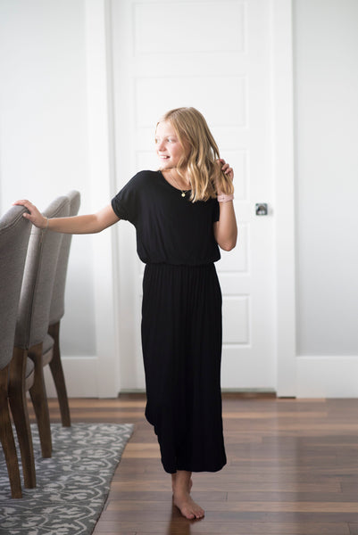 Haven Jumpsuit for Girls in Black
