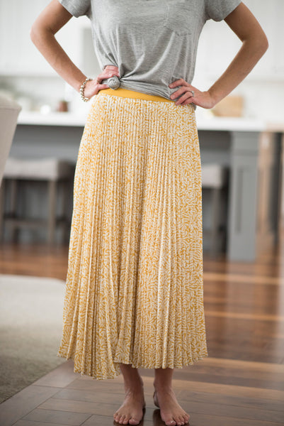Finn Pleated Skirt