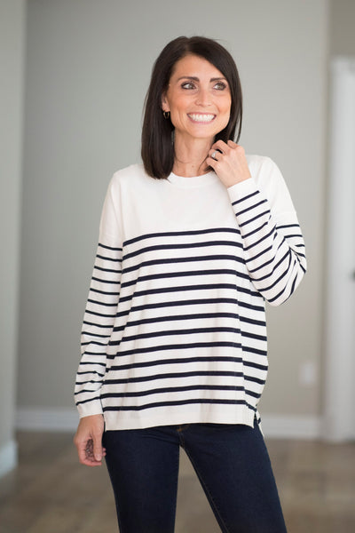 Beth Stripe Sweater