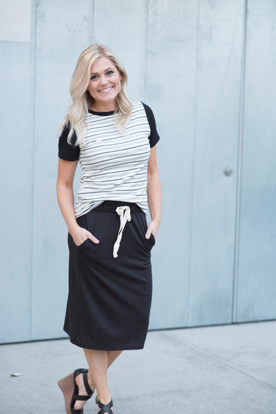 Cameron Skirt in Black