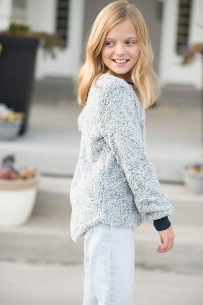 Celeste Fuzzy Sweater