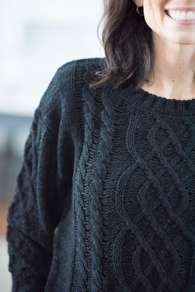 Stevie Sweater in Black