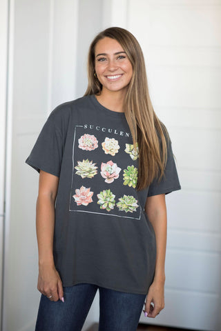Succulent Graphic Tee