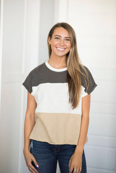 Georgia Stripe Tee