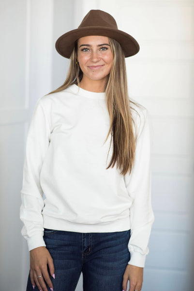 Lizza Pullover in Ivory