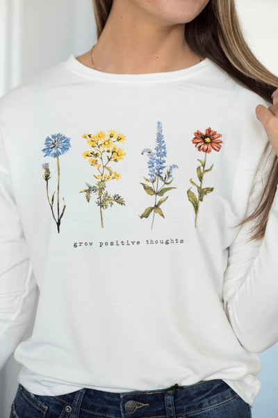 Grow Positive Thoughts Top